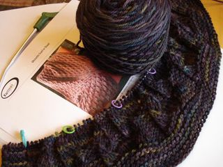 Obstacles scarf or shawl