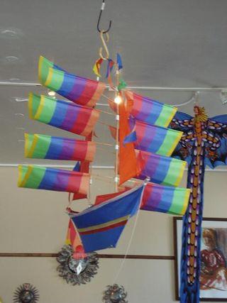 Ship kite