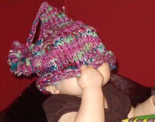 Peek a boo hat