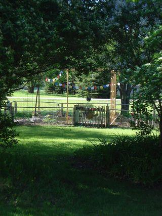 Veg garden arch