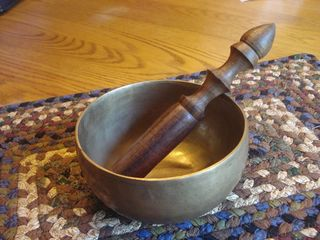 My singing bowl