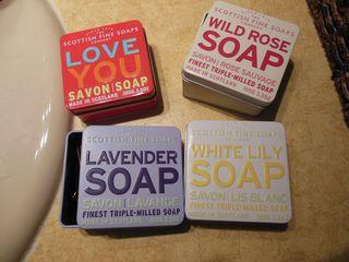 Soap tins