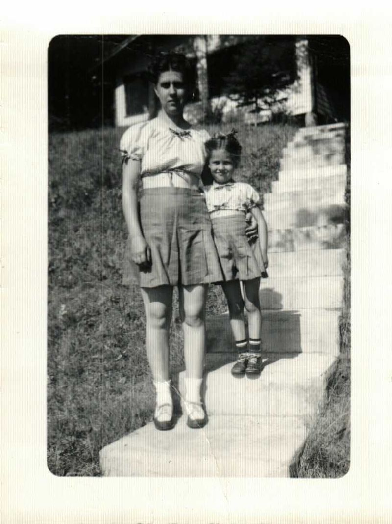 Janet and Kathy 1947