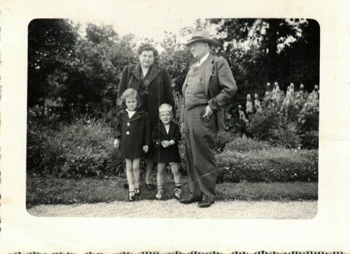 Kathy, Dean, Tillie and Harold June 1947