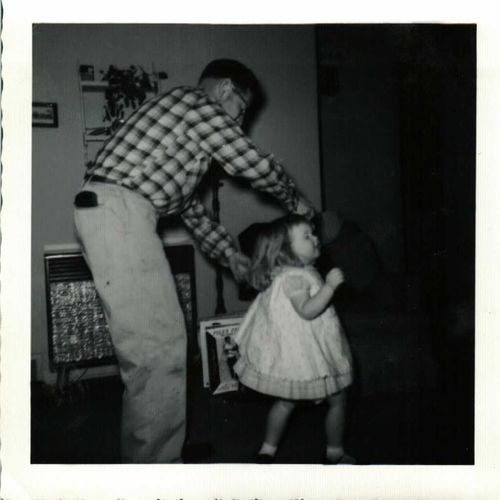 1960 dancing with Daddy