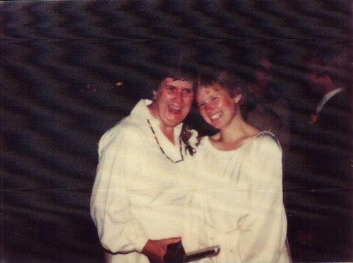Hollys wedding 1979