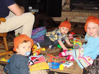 Pumpkin hats