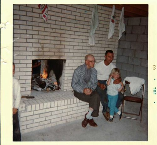 1963 with Uncle Ed and Grandpa G